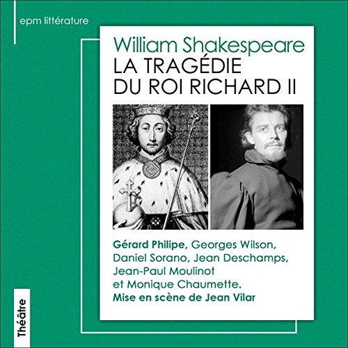 La tragédie du roi Richard II  audiobook cover art