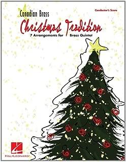 Christmas Tradition: Conductor's Score: 7 Arrangements for Brass Quintet