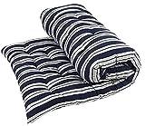 Cotton Mattress Soft Cotton Multicolour Mattress/Gadda (1 Sleeping Capacity, 3 x 6 ft or 72 x 36 Inch, Single Bed Foldable Light (King)