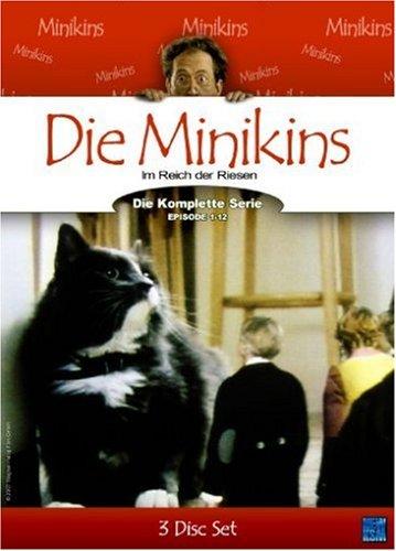Die Minikins - Im Land der Riesen (3er DVD Box mit 12 Folgen)
