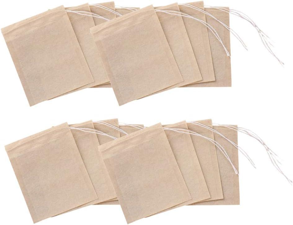 Hemoton 200pcs Drawstring Seal Tea National uniform free shipping Disposable In Baltimore Mall Filter Bags
