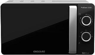 comprar comparacion Cecotec ProClean 3050 - Microondas, Capacidad de 20l, Revestimiento Ready2Clean, 700 W de Potencia, 6 Niveles Funcionamien...