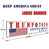Keep America Great 2020 Large Banners Outdoor Yard Sign with Metal Grommets,New,Store,Advertising,Flag for President,MAGA