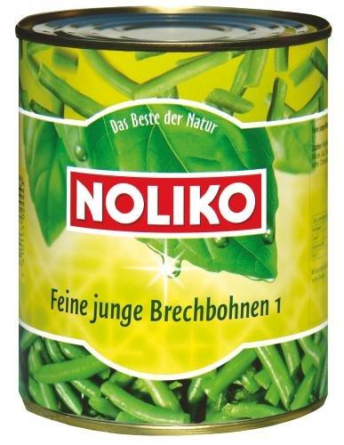 Noliko Brechbohnen, 12er Pack (12 x 800 g Dose)