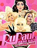 Rupaul's Drag Race Coloring Book: Exclusive Coloring Books For Adults