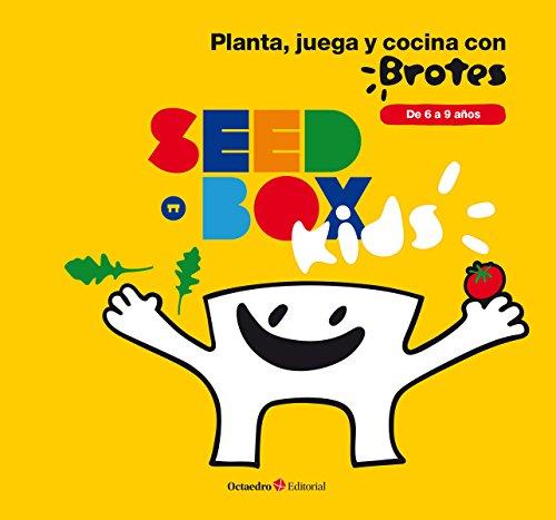 Seedbox SBKBR - Huerto urbano infantil de rúcula y tomates cherry, color blanco: De 6 a 9 años (Brotes)