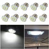 WLJH BA15s 1156 1141 auto lampadine LED 9 - 3528SMD DC 24 V LED lampadine di ricambio fren...