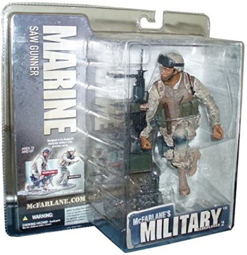 McFarlane′s Military Serie 2 roteployed - Marine Saw Gunner