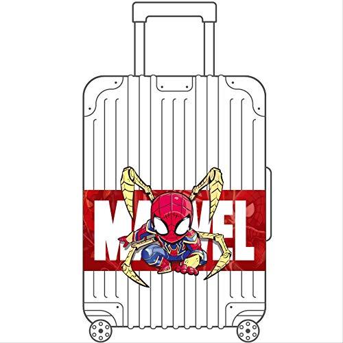ZAQQ Luggage Sticker Large Spider-man Large Avenger Alliance Waterproof Marvel Suitcase Lever Case Sticker