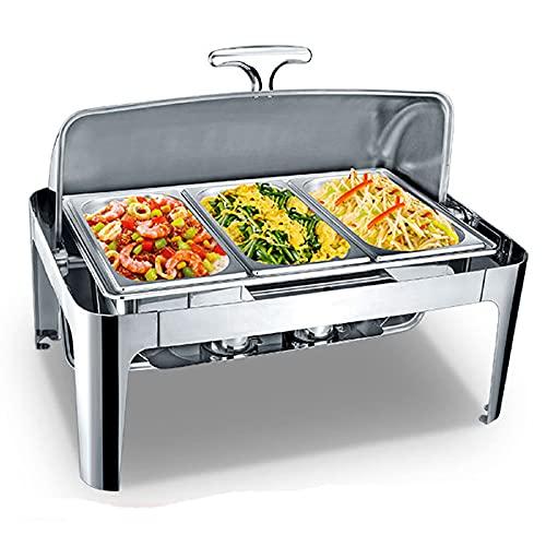 LXX 9L Chafing Dish Electrico para Buffet,...
