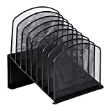 AmazonBasics Mesh Eight-Tier Inclined Sorter