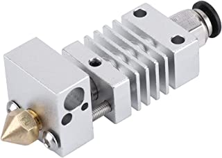 3D-printer Roestvrijstalen J-head Hotend-extruderset voor CR10 CR10S CR10S4 CR10S5,wordt geleverd met 5 mk8-spuitmonden, s...
