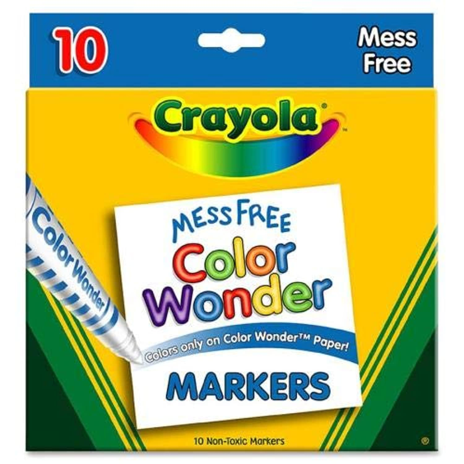 Color Wonder Mess Free Coloring Markers 10-Pack jbepbc2816059