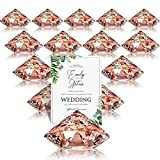 Lugar titular de la tarjeta Woopower 5pcs boda recepci/ón mesa men/ú soporte de fotos Clip titular de la tarjeta con una tarjeta