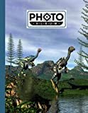 Photo Album: Large Photo Albums with Writing Space Memo, Extra Large Capacity Picture Album | Premium Caudipteryx Dinosaurs Cover by Janet Behrens