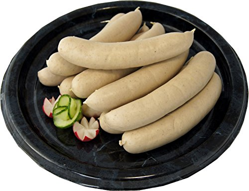 Dresdner Bratwurst fein & herzhaft | feine Bratwürste für Grill & Pfanne | Premium Grillwürste | Grillen & Braten | 1 kg