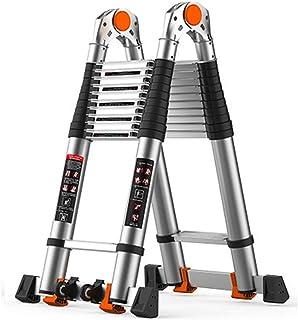 Extension ladder adjustable Ladders Aluminium Portable Multi-Purpose Extension Ladder premium extension ladder (Color : A,...