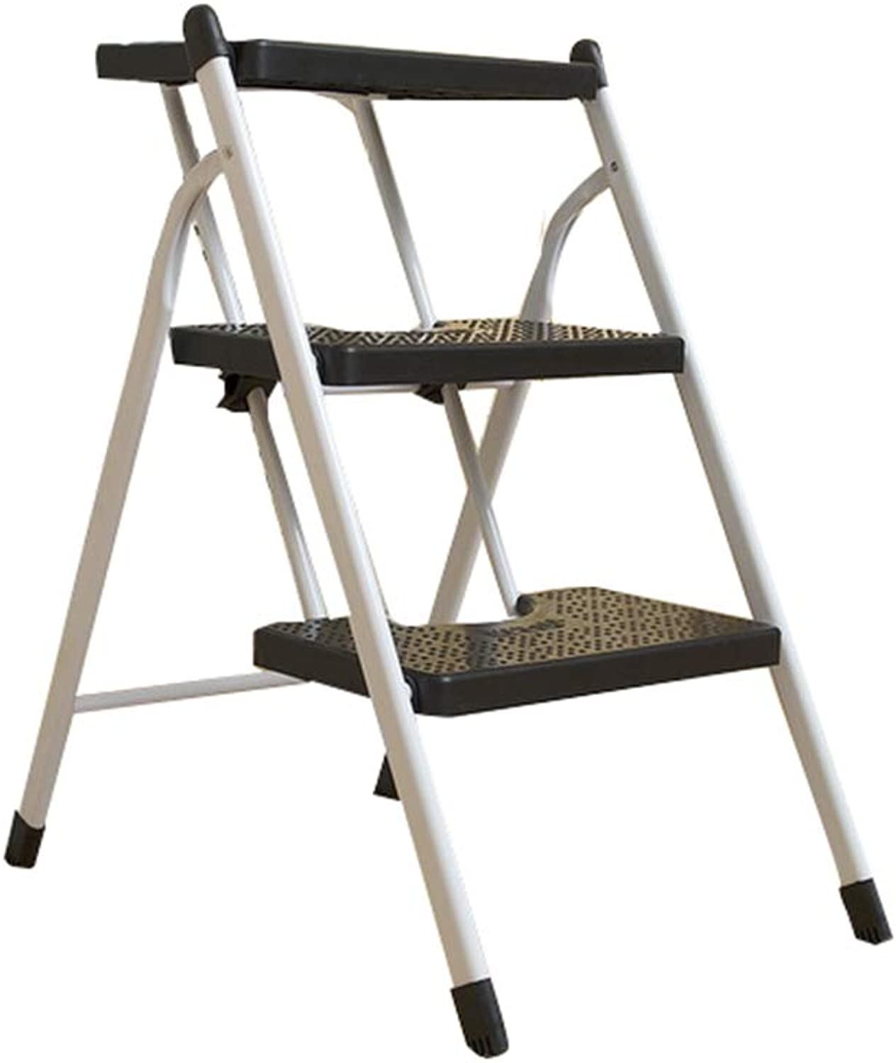 European standard -3.85m+hook Step Stool Telescopic Ladder - Household Thick Folding Ladder, Lifting Stairs Aluminum Ladder, Engineering Ladder - with Hook - 11 Sizes (Size   European Standard -3.85m+Hook)