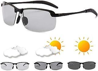 dd74725148 LIUYAWEI Gafas de Sol fotocromáticas para Hombres Polarizado de conducción  Gafas de camaleón Hombre Cambio de
