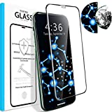 Veiai Screen Protector Compatible with iPhone 11/XR, HD Tempered Glass Anti-Fingerprint Anti-Glare Film for iPhone (6.1'-iPhone 11/XR)