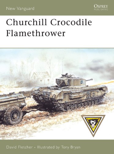 Churchill Crocodile Flamethrower (New Vanguard Book 136) (English Edition)
