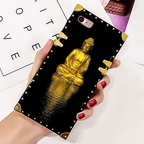 Gold Buddha Luxury TPU Case Compatible Apple iPhone 8 (2017)/iPhone 7 (2016)/iPhone SE2 [SE 2020] (4.7')