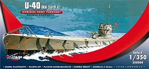 U-40 IXA (torre i) submarino alemán (1: 350)