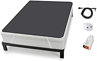 Grounding Mattress Cover for Bed (Queen Size), Like grounding Sheets for earthing, Improve Sleep with Clint Ober's EARTHIN...