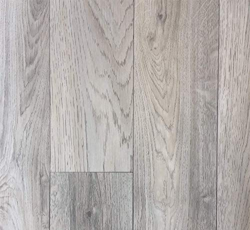 PVC Vinyl-Bodenbelag in grauem Vintagelook | PVC-Belag verfügbar in der Breite 2 m & in der Länge 5,0 m | CV-Boden wird in benötigter Größe als Meterware geliefert | rutschhemmend