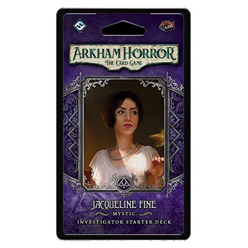 Fantasy Flight Games - Arkham Horror LCG: Investigator Starter Deck - Jacqueline Fine Investigator - Juego de Cartas