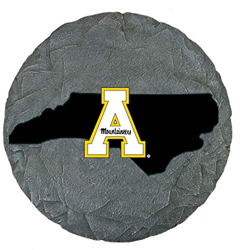 Oxbay Appalachian State Mountaineers Stepping Stone with State Outline
