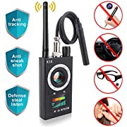 Anti Spy RF Detector, Mareu Wireless Bug Detector Signal, Camera Finder for GSM Listening Device Finder Radar Radio Scanner Wireless Signal Alarm