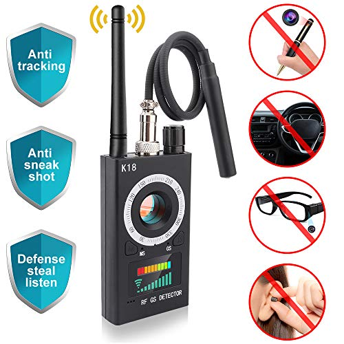 Cheap Anti Spy RF Detector, Mareu Wireless Bug Detector Signal, Camera Finder for GSM Listening Devi...