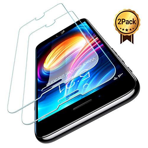 TORRAS für iPhone SE 2020 Panzerglas [Speziell für iPhone SE 2020] [4.7 Zoll] Schutzfolie mit Positionierhilfe, 9H Gehärtet, Anti-Kratzen, Anti-Bläschen, Folie für iPhone SE 2020 [2 Stück]
