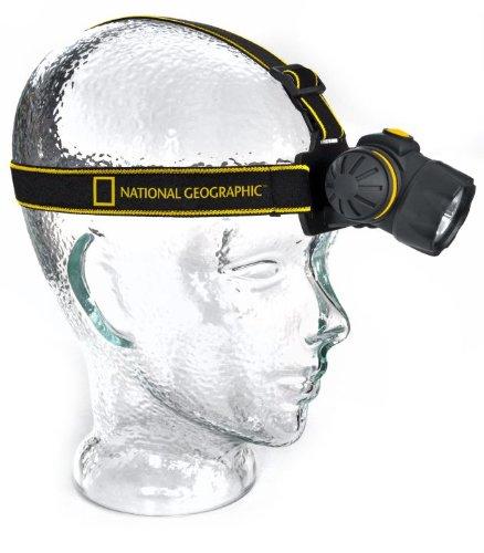 National Geographic Lámpara de cabeza LED