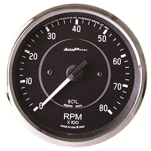 Auto Meter 201004 Cobra 4' 8000 RPM Tachometer Gauge