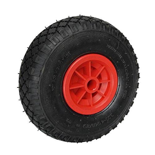 Premium Kajakwage Gummireifen Gummiräder Ersatzräder Kanuwagen Bootswagen Reifen Räder für Trolley