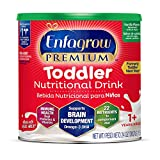 Enfagrow Premium Omega 3 DHA Prebiotics Non-GMO (Formerly Toddler Next Step) Toddler Nutritional Milk Drink, Vanilla Flavor Powder 24 oz. can  From the Makers of Enfamil