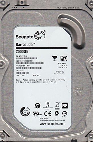 ST2000DM001 Seagate 2-TB 7.2K 3.5 6G SATA HDD
