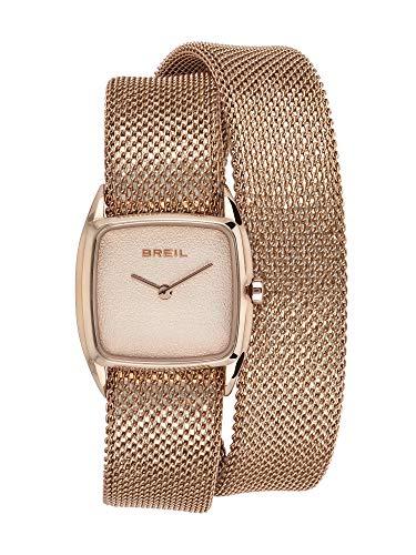 Orologio BREIL per donna NEW SNAKE con bracciale mesh in acciaio, movimento SOLO TEMPO - 2H QUARZO