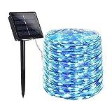 DALIBAI Cadena de luces LED para exteriores con luz solar,...
