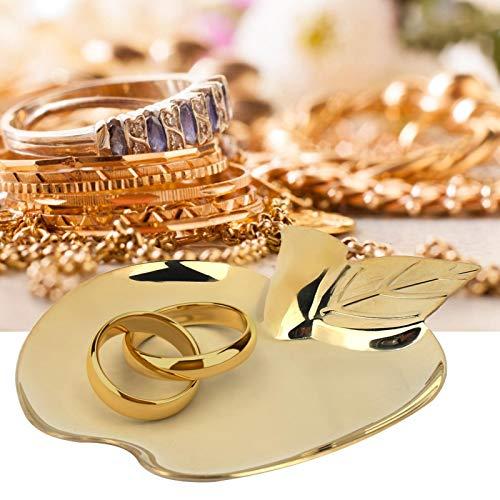 Bandeja de exhibición de productos básicos de oro de acero inoxidable Bandeja de servicio de alimentos para joyería para restaurante
