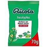 Ricola - Bonbons Suisses aux Plantes - Parfum Eucalyptus - Apaisant et Extra Frais - Sans ...