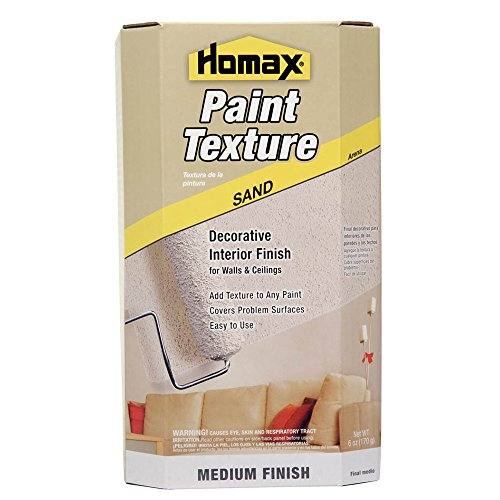 Homax Roll On Paint Additive, Mixes with 1 gal of Paint, Sand Texture, Decorative Paint Mix (041072084741)