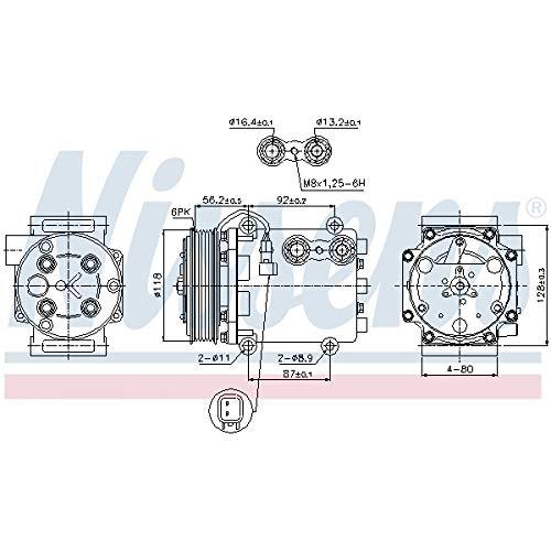 Nissens 89551 Clima compressori