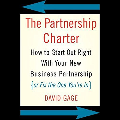 The Partnership Charter audiobook cover art