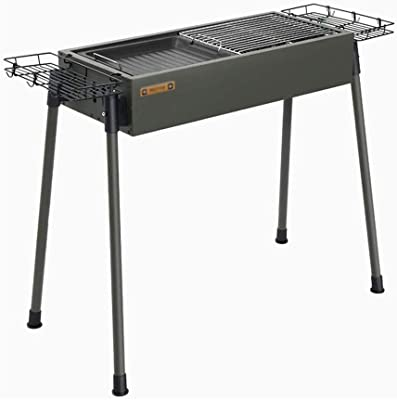 CJVJKN Outdoor Thick Stainless Steel Barbecue Grill, Household Charcoal Barbecue Tools, Backpack, Picnic, Party Activities 66 30 69 cm