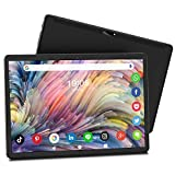 Octa-Core Gaming Tablet 10 Inch, Android 10.0, 32GB ROM/128GB Expand, 1920x1200 IPS HD Glass Display Android Tablet, Dual 18MP Camera, WiFi/Bluetooth/GPS/OTG/Google Certified Tablet (2021 Black)