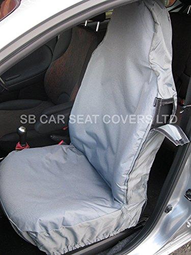 R – passend für Ford Ranger Autositzbezüge, Rossini Deluxe, wasserdicht, grau, komplettes Set