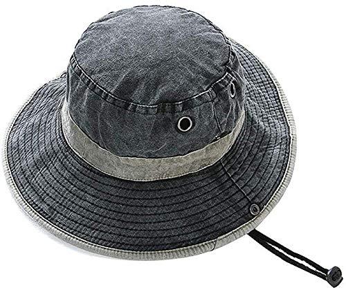 MGE Zonnehoed voor mannen en mutsen, uv-bescherming, zomer, vrouwen, opvouwbaar, bergbeklimmer, hoed voor tuin, boonie visserij, waterdicht, voor buiten, bus, ademend, bucket